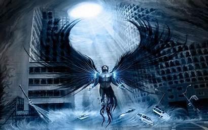 Angel Wallpapers Dark Fallen Angels Scary Desktop
