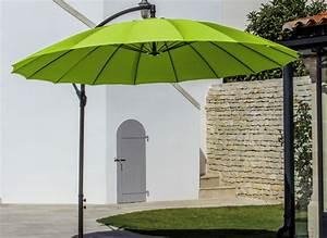 Jardiland Parasol Déporté : parasol d port rond pagode 3m proloisirs ~ Premium-room.com Idées de Décoration