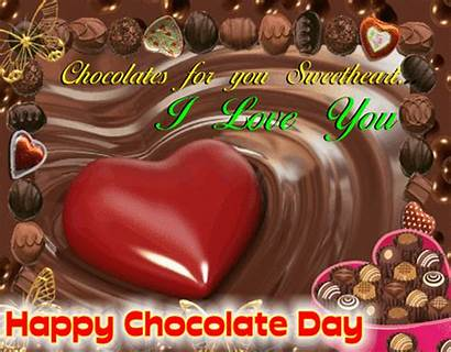 Chocolate Happy Sweet Wishes Wish Card Candy