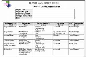 communication plan template cyberuse With project management communications plan template
