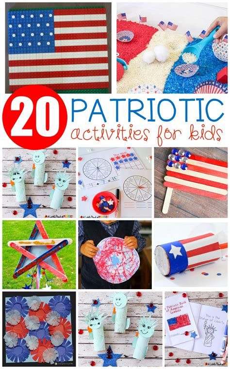 festive and patriotic activities for 330 | patriotic crafts pp 2