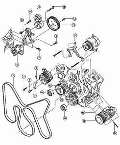 2010 Dodge Grand Caravan Tensioner  Belt  Diesel  Engine