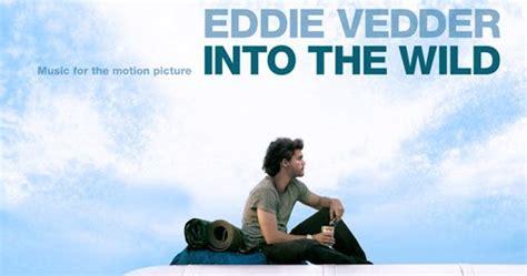 eddie vedder no ceiling de trilhas sonoras na natureza selvagem into