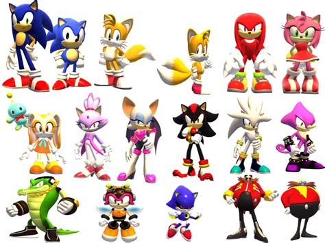 What Animals Are All These Sonic Characters?