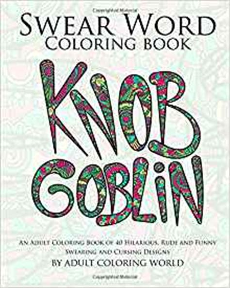 amazoncom swear word coloring book  adult coloring