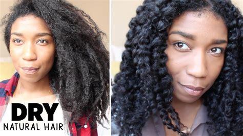 moisturizing natural black hair