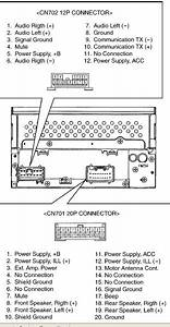 Toyota 56816 Head Unit Pinout Diagram   Pinoutguide Com