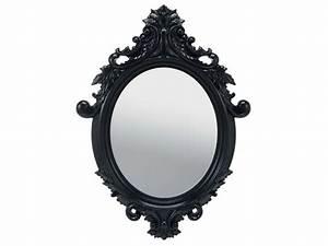 Miroir Mural Pas Cher : conforama miroir 55x75 cm so pretty coloris noir vente de miroir mural 24 99e miroir ~ Teatrodelosmanantiales.com Idées de Décoration