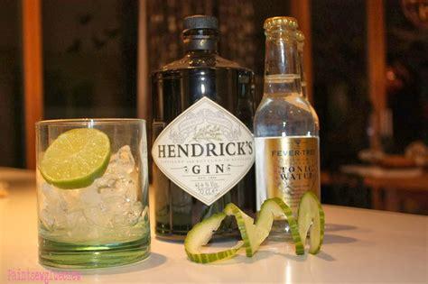 gin  tonic hendricks  fever tree paintsewgluechew