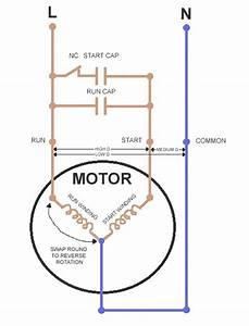 Ac Dual Run Capacitor Wiring Diagram