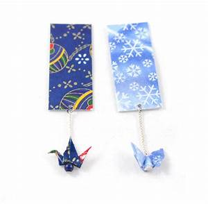 Marque Page En Papier : lot de 2 marques pages papier grue et papillon origami en papier japonais marque pages par ~ Melissatoandfro.com Idées de Décoration