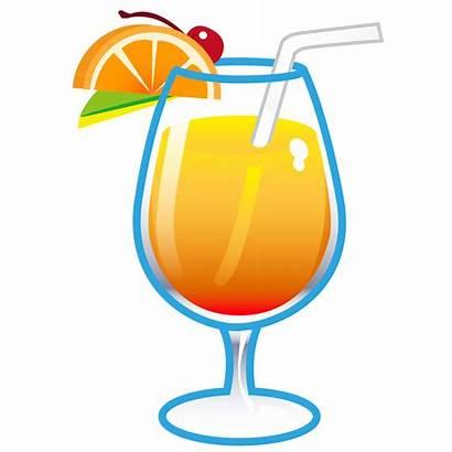Clipart Transparent Drink Drinks Tropical Clip Cocktail
