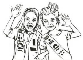 Girl Scout Daisy Coloring Page