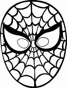 spiderman face template clipartsco With children s mask templates
