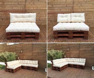 Paletten Couch Kissen : palettenkissen palettenauflage kissen palettensofa euro paletten polster mh jc01 ebay ~ Orissabook.com Haus und Dekorationen