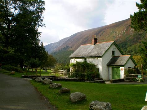 Ireland Cottage by Cottage Glendalough National Park Ireland This