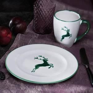 Gmundner Keramik Hirsch : gmundner keramik hirsch gr n dessertteller gourmet ~ Watch28wear.com Haus und Dekorationen