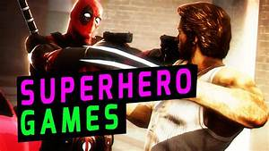 Top, 10, Superhero, Video, Games