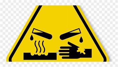 Symbol Corrosive Clipart Chemical Hazard Clip Transparent