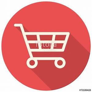 """Shopping cart icon"" Stock image and royalty-free vector ..."
