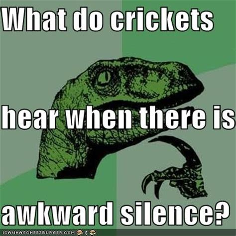 Crickets Chirping Meme - mayville page 2