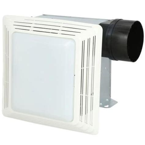 nutone heavy duty 80 cfm ceiling exhaust fan with light