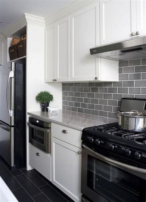 beautiful grey kitchen backsplash ideas