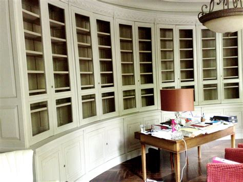 wall to ceiling bookcases furniture varnished solid wood display bookshelves which
