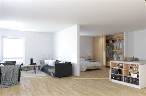 Studio Apartment : Scandinavian & Parisian Apartments In White