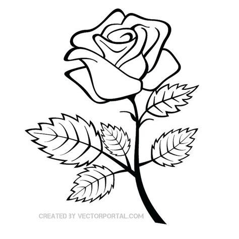 drawings rose simple drawing group fepaexorg