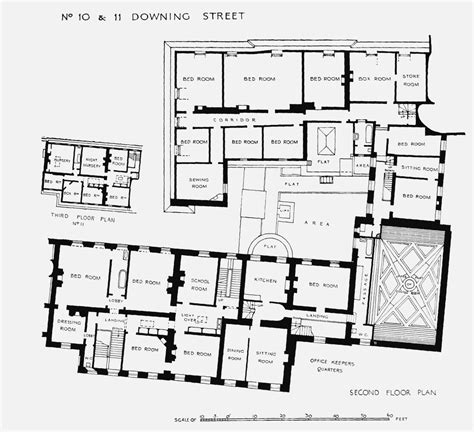 plate  nos    downing street plans