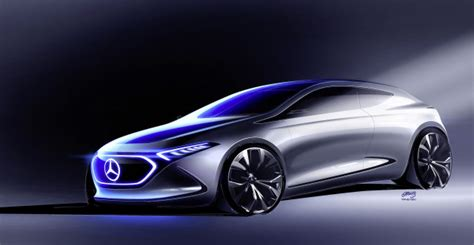 Compact Electric Cars by Image Shows Shape Of Mercedes Eqa Compact Electric