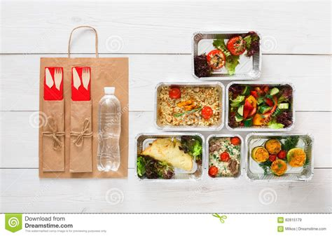 proportion cuisine healthy food delivery daily meals top view copy space