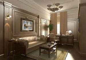 office decor ideas classic office design house interior With interior decorating ideas videos