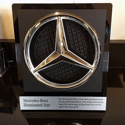 mercedes benz star extra cost  rated fixtures close