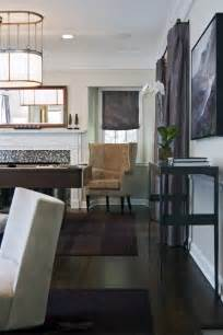 Living Room Furniture with Dark Wood Floors