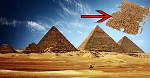 L39un Des Secrets De Construction De La Pyramide De Gizeh