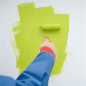 peindre un mur les bons gestes marie claire With avant de peindre un mur