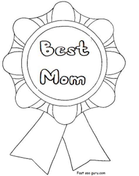 printable  mom mothers day coloring  pages  kids coloring pages printable