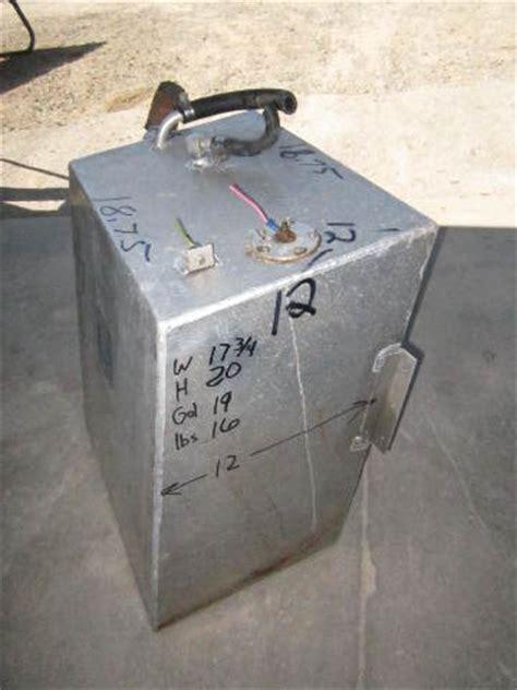 12 Gallon Boat Gas Tank by Aluminum Boat Gas Tank 19 Gallon 18 X 20 X 12 Green Bay
