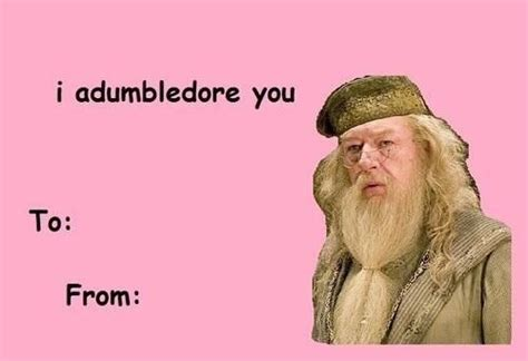 Cute Valentine Meme - 14 terrible harry potter valentine s day cards that might just work mtv