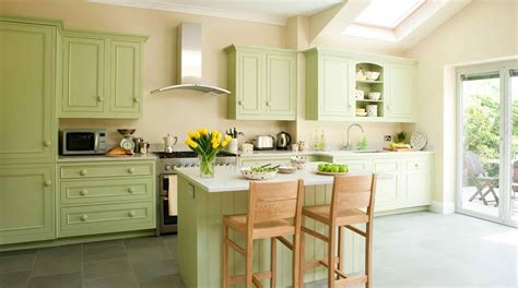 green paint for kitchen light brown painted cabinets 7857