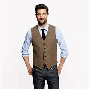 love the jcrew ludlow vest in harvest herringbone english With mens dress vests wedding