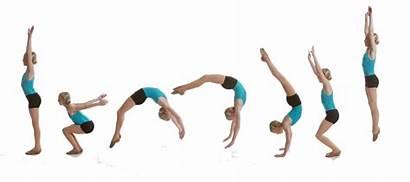 Gymnastics Moves Skills Handspring Matrix Cartwheel Cheer