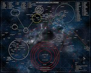 Map of the Honorverse - English Version by Genkkis on ...