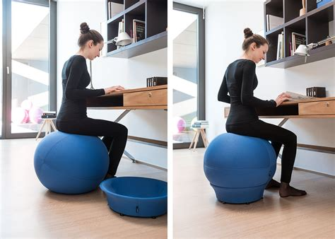 ballon chaise de bureau siège en forme de ballon de idéal pour un bon maintien