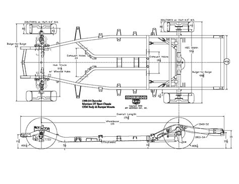 Chevy Passenger Car Chassis Diagram The
