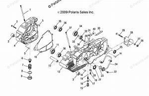 Polaris Atv 2018 Oem Parts Diagram For Engine  Crankcase