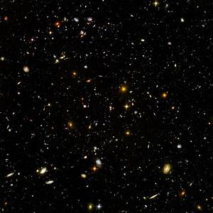 Hubble Ultra Deep Field | So, this is what I'm thinking…