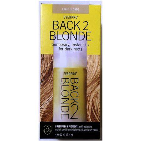everpro   blonde temporary hair color light blonde